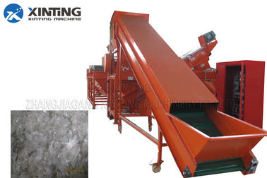 Agricultural Film Recycling Line PE Film Waste Plastic Washing Recycling Machine